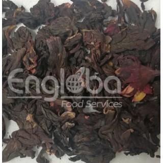 Nigerian Whole Jamaica Flower - (25Kg sack)